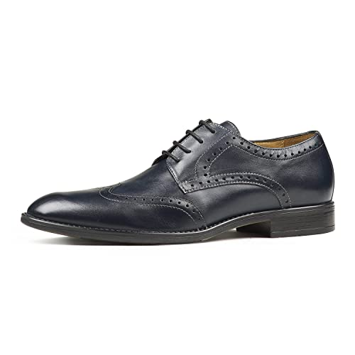 d886145368 Brent Shoes Men s Roby Brogue Leather Formals  Buy Online at Low ...