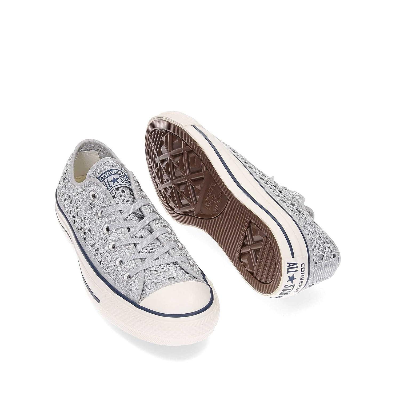 Converse Chuck Taylor All Star Star Star Crochet Metallic Sneachers damen damen Mod. 556825C 25100b