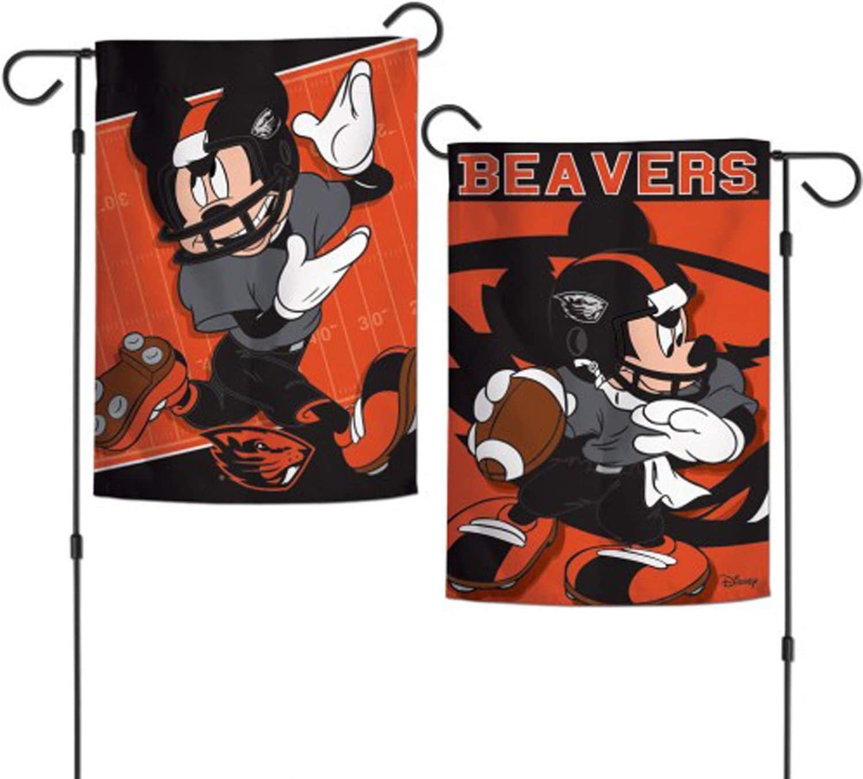 "WinCraft NCAA Oregon State University Disney Garden Flags 2 Sided, Multicolor, 12.5"" x 18"""