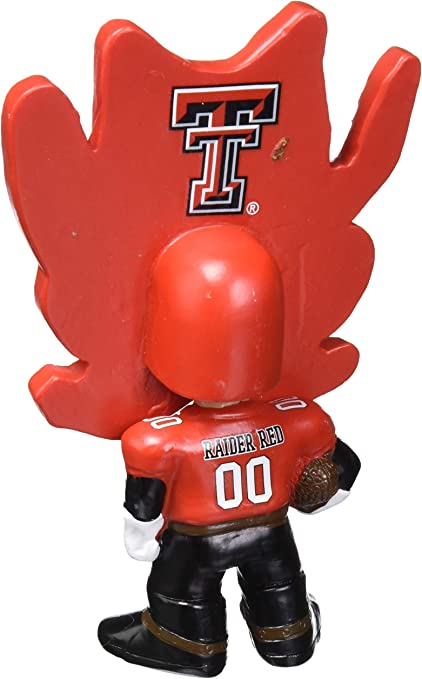FOCO NCAA Texas Tech Red Raiders MASCOT Flathlete Figurine