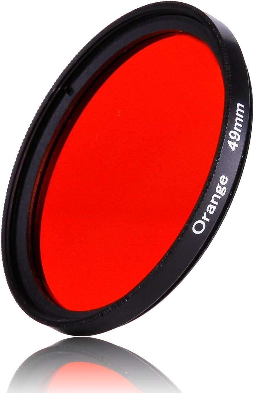 52mm 1pcs 30mm 37mm 40.5mm 43mm 46mm 49mm 52mm 55mm 58mm 62mm 67mm 72mm 77mm 82mm Full Orange Color Lens Filter Protector