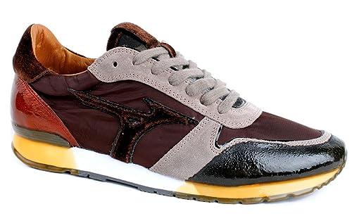 scarpe mizuno bambino marrone