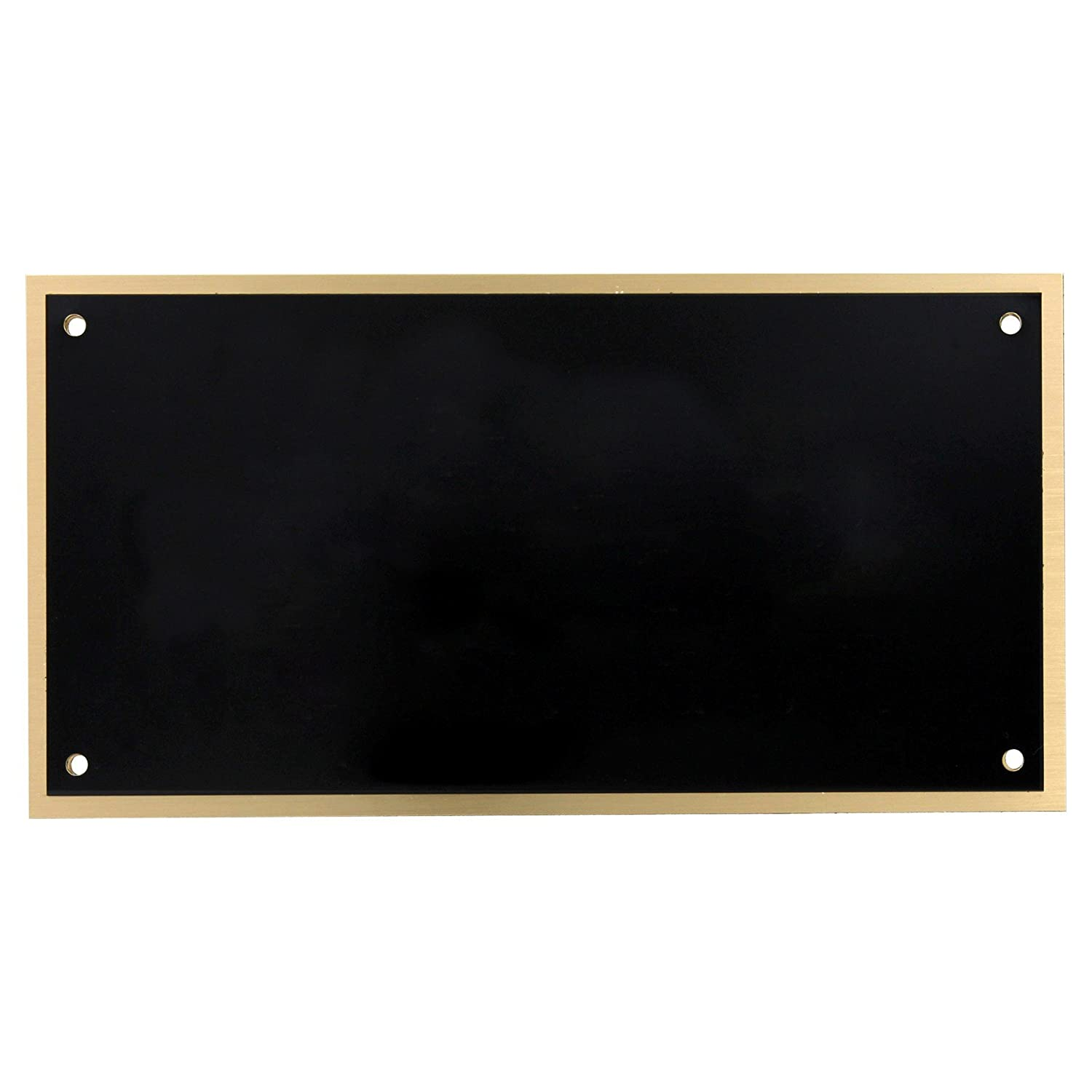 Blank Large Black-on-Brass Engraving Plate Online Stores