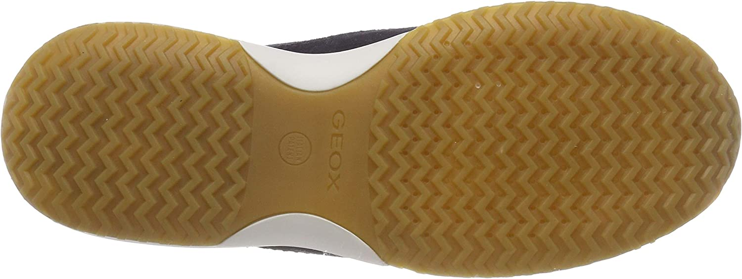 Geox D Happy A, Sneakers Basses Femme Blue C4000
