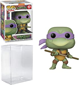 Donatello Pop #17 Retro Toys Teenage Mutant Ninja Turtles Vinyl Figure (Bundled with EcoTek Protector to Protect Display Box)