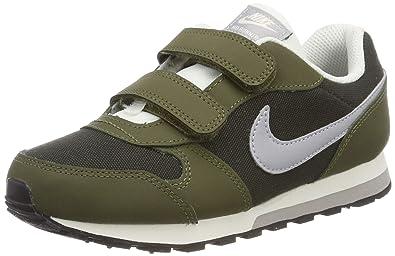 free shipping 3c4df 3e6f3 Nike MD Runner 2 (PSV), Chaussures de Fitness garçon, Multicolore (Sequoia
