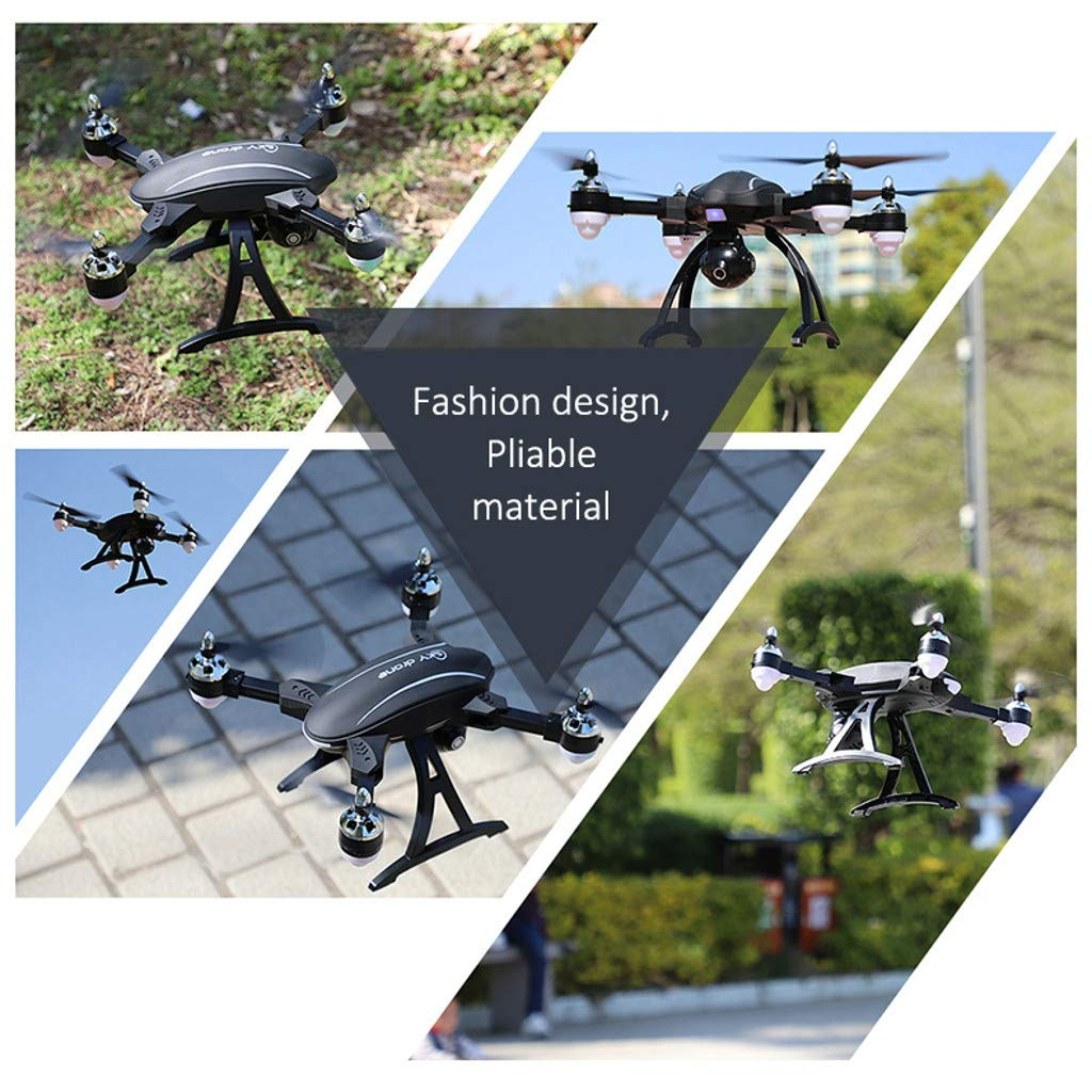 MOZATE LE IDEA LD-220 Foldable 2.4Ghz 2MP WiFi FPV 720P HD RC Quadcopter Selfie Drone (Black) by MOZATE (Image #3)