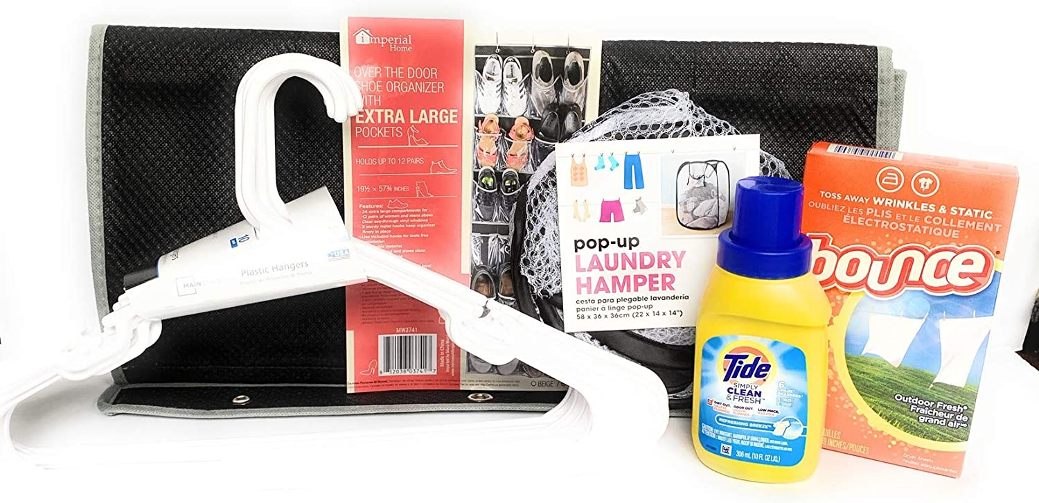 Dorm Essentials: Laundry & Clothing Kit