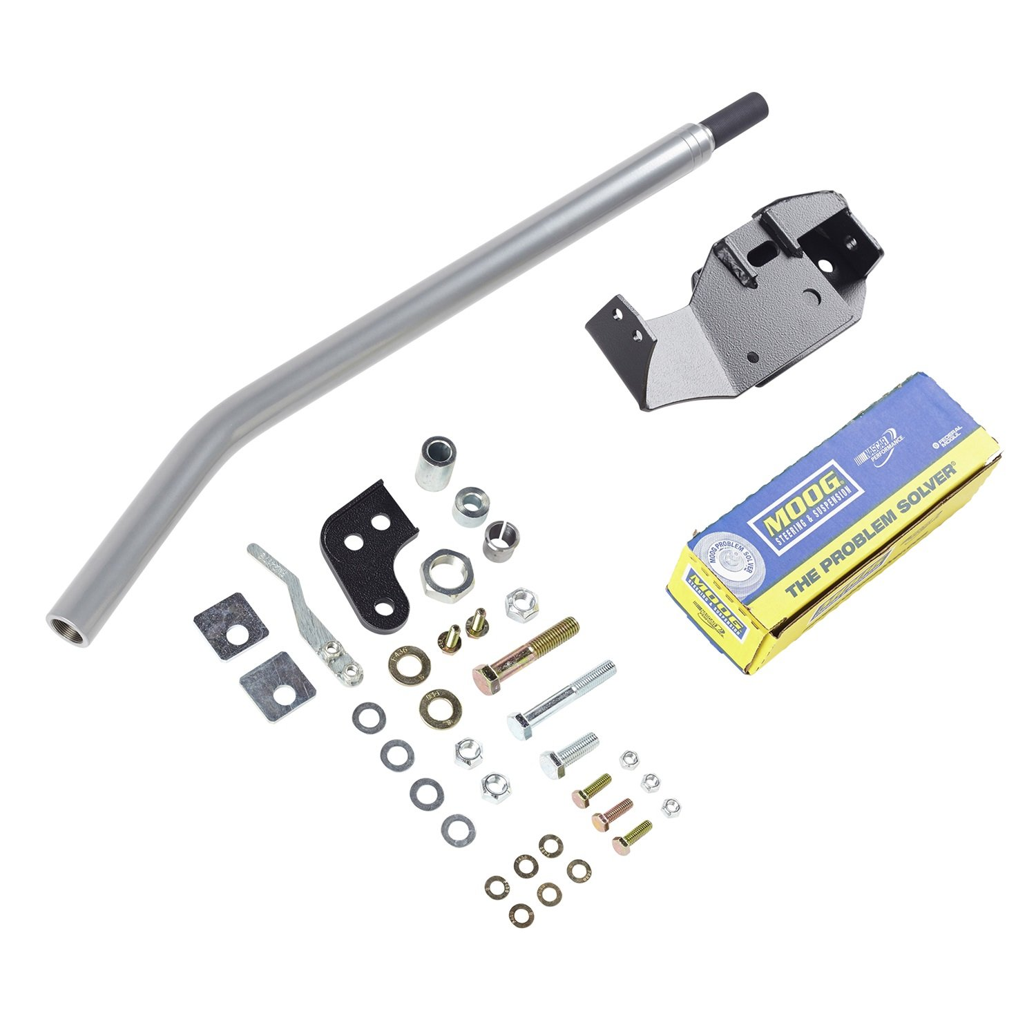 Lift Incl Rubicon Express RE2621 High Steer Kit 3.5-5.5 in HD Drag Link w//OE Tie Rod Ends High Steer Kit