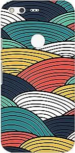 Stylizedd Google Pixel XL Slim Snap Basic Case Cover Matte Finish - Woven Colors