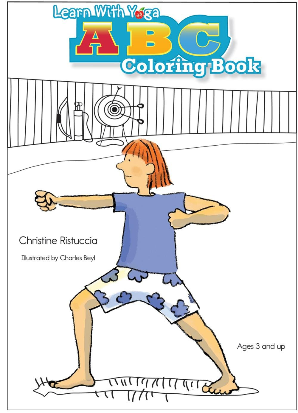 Learn With Yoga ABC Coloring Book: Christine Ristuccia, Say ...