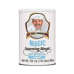 Chef Paul Pork and Veal Magic Seasoning, 24 ounces