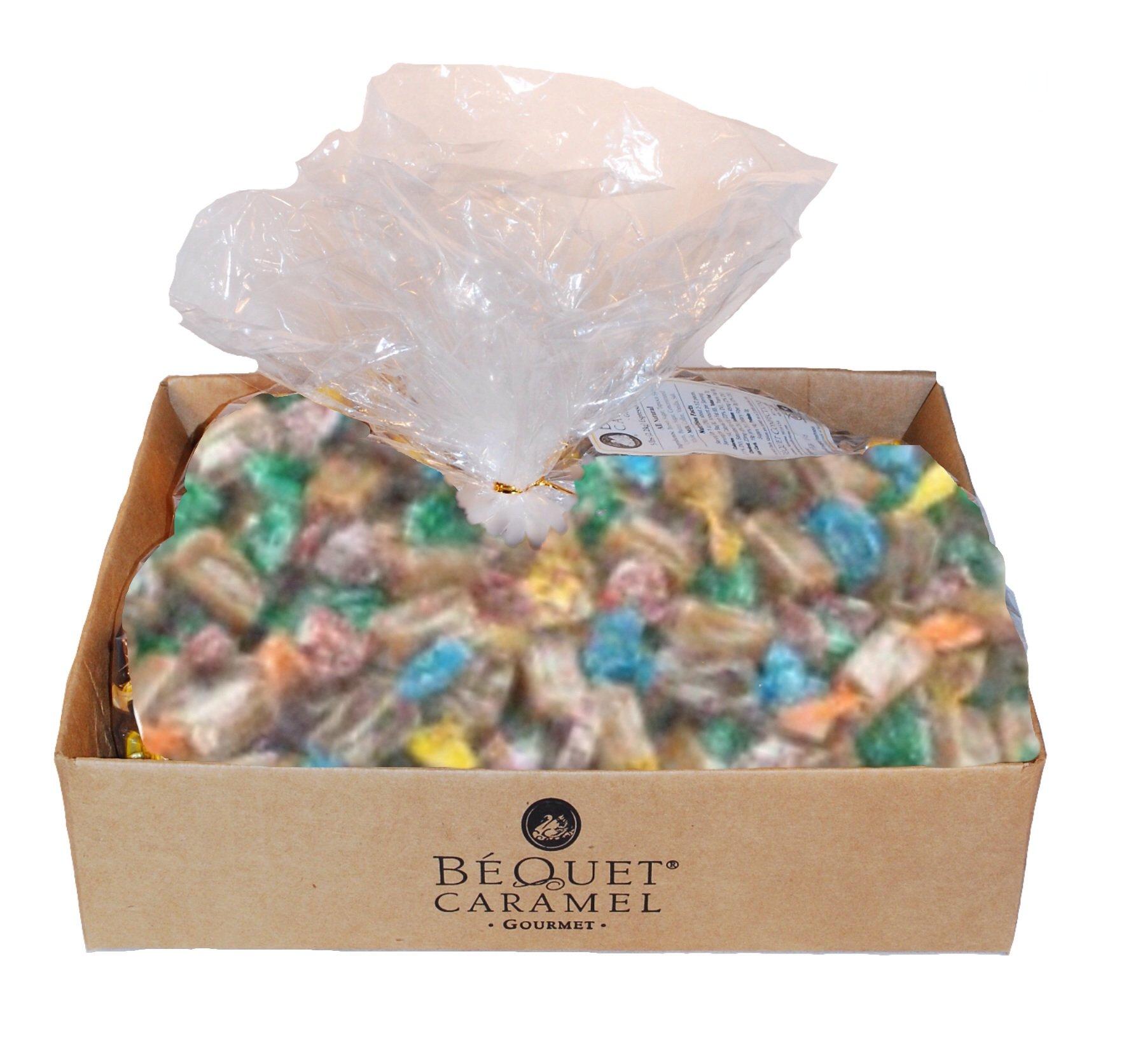 Bequet Gourmet Assorted Caramel 5lb bag (Assorted, 5lb bag) by Bequet
