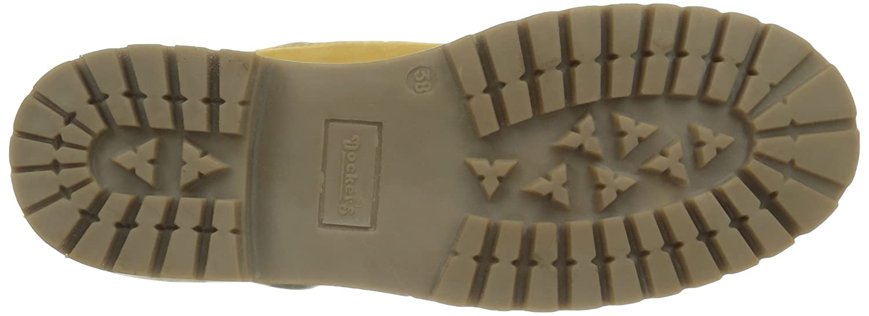 Dockers by Gerli Gerli Gerli Damen 35fn699-300910 Combat Stiefel 5a21f3