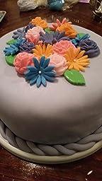 Amazon.com: 5pc Cake Decorating Molds- Premium Silicone