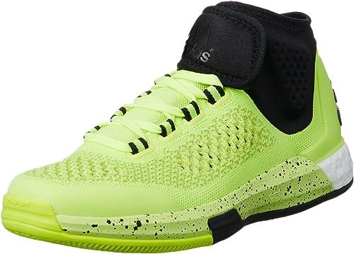 adidas 2015 Crazylight Boost Primekni - Zapatillas para hombre, Amarillo / Negro / Blanco, 48: Amazon.es: Zapatos y complementos
