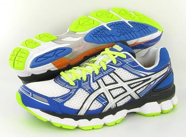 ASICS GT-3000 Zapatilla de Running Caballero, Blanco/Azul/Amarillo, 44: Amazon.es: Zapatos y complementos