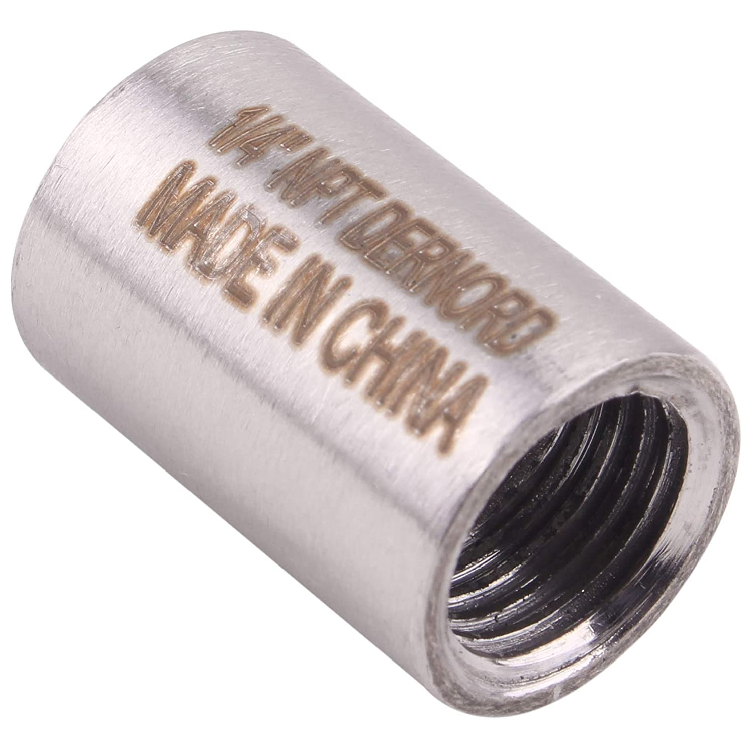 Stainless Steel 304 Cast Pipe Fitting Class 150 Coupling Pack of 2 1//4NPT Female