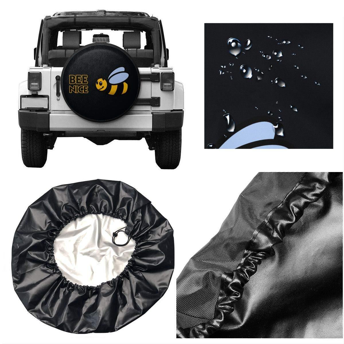 Bag hat Avocado Spare Wheel Tire Cover Vinyl Cover with Elastic Hem-Durable Design Keeps Dirt 16 for diameter 29-31