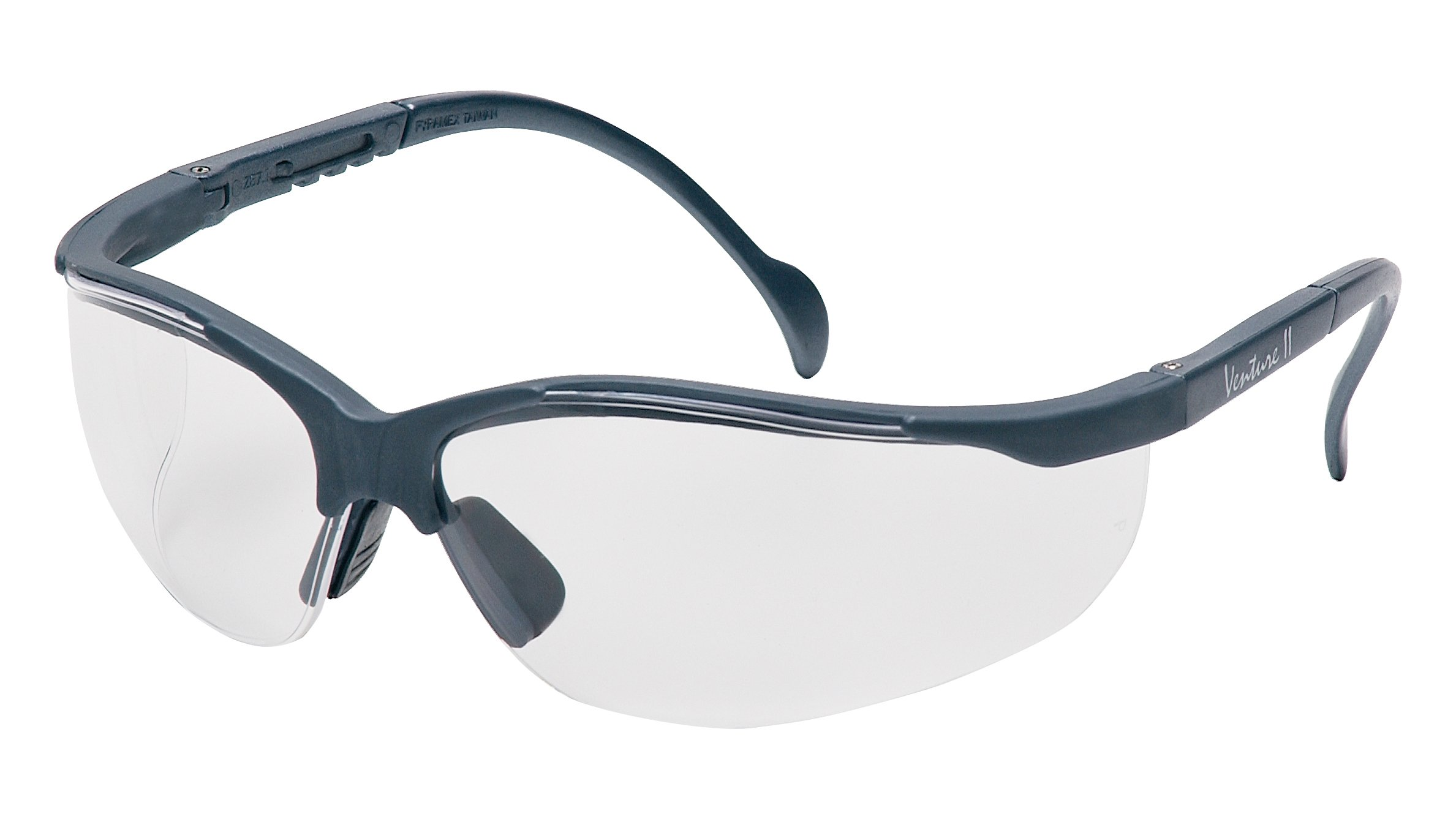 Pyramex Venture Ii Safety Eyewear, Indoor/Outdoor Mirror Lens With Slate Gray Frame by Pyramex Safety