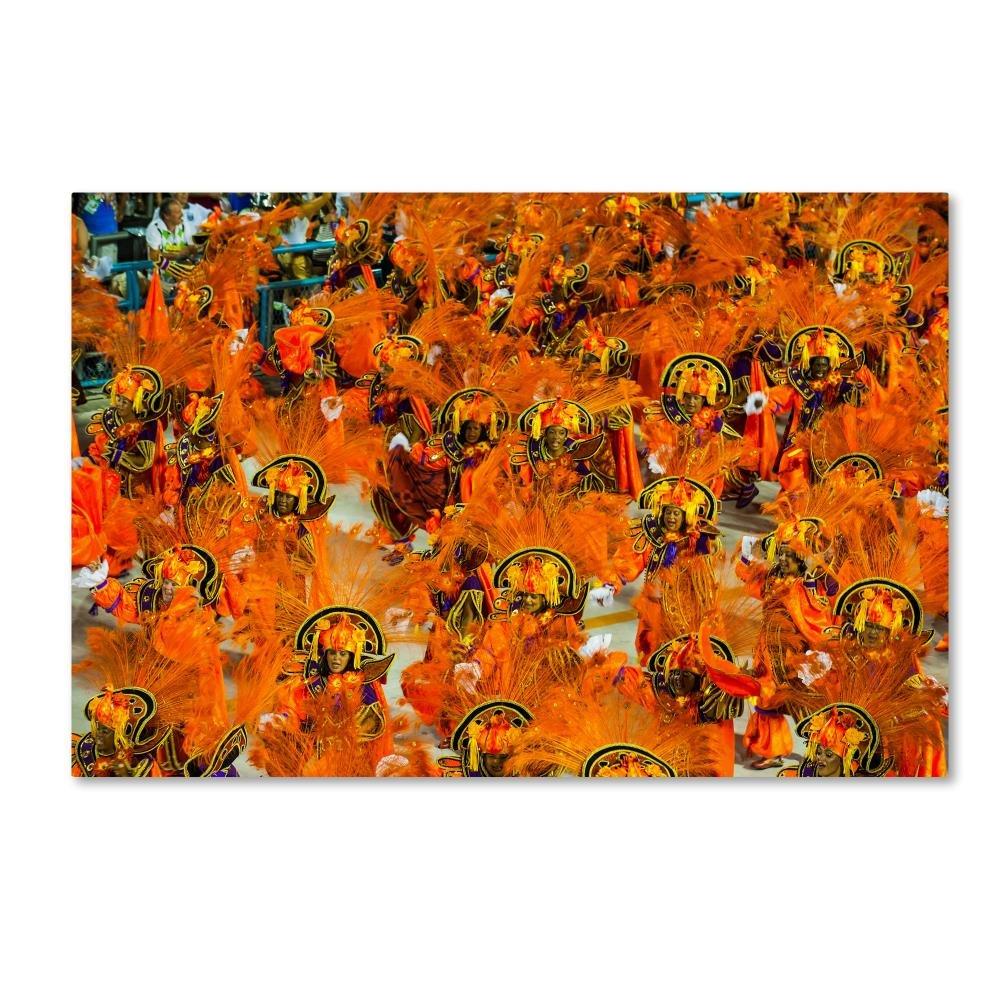 抽象カラーbyロバートハーディング画像ライブラリ、30 x 47-inchキャンバス壁アート B075ZXR49N