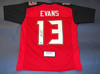 29d4858ec74 Signed Mike Evans Jersey - Tristar Productions Certified - Autographed NFL  Jerseys