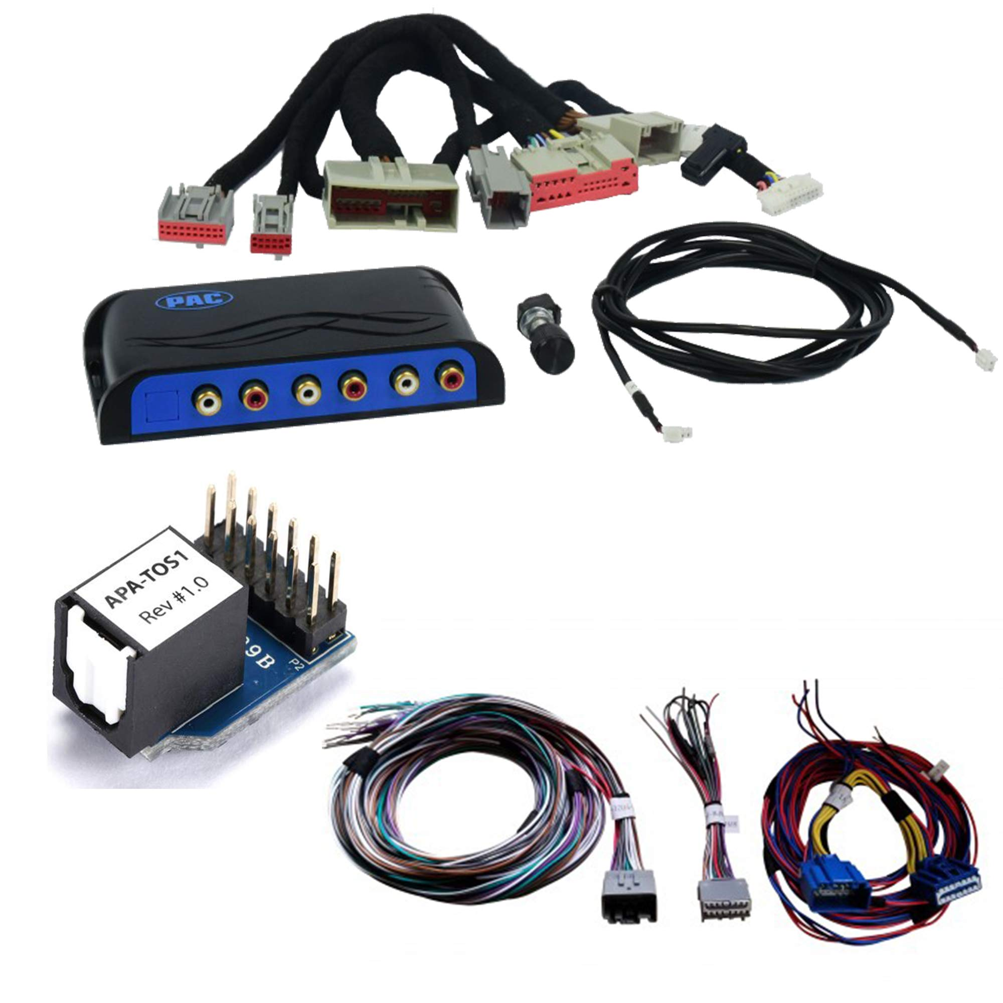 AmpPRO Audio Output Interface for Select Ford Vehicles with Digital Audio System and Harness