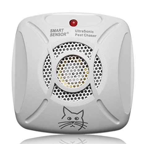 Clomana 220V Ultrasonic Pest Chaser Electronic Ultrasonic Indoor Rat Mouse Insect Rodent Pest Control Repeller