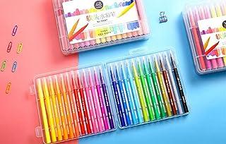 Uso dell'allievo della cancelleria della scuola 24 Pz Bambini Disegno Pittura Graffiti Penne da colorare Disegno pennarelli Artista Multi Color Pen Penne ad acquerello WeieW
