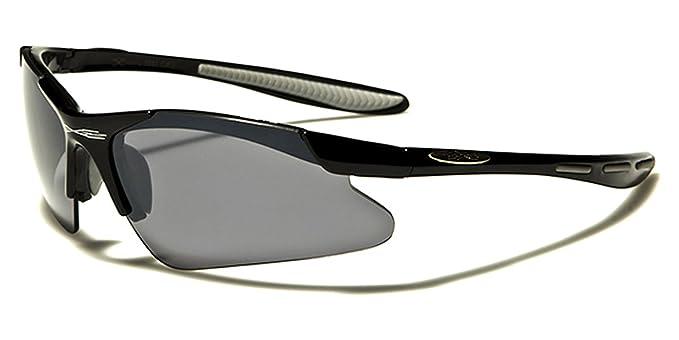 NEU X-Loop Herren rahmenlosen Sport Sonnenbrille fahren Fahrrad Biker UV400 QTI4gQw
