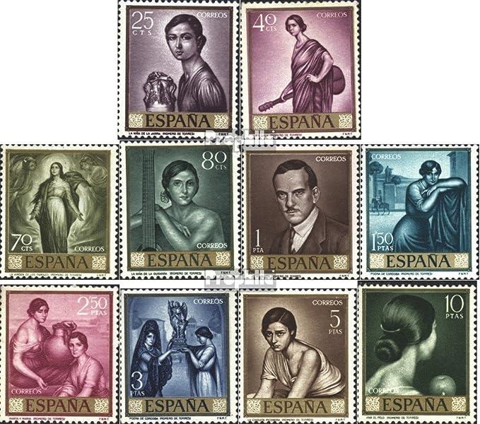 Prophila Collection España Michel.-No..: 1536-1545 (Completa.edición.) 1965 día el Sello (Sellos para los coleccionistas) Pintura: Amazon.es: Juguetes y juegos