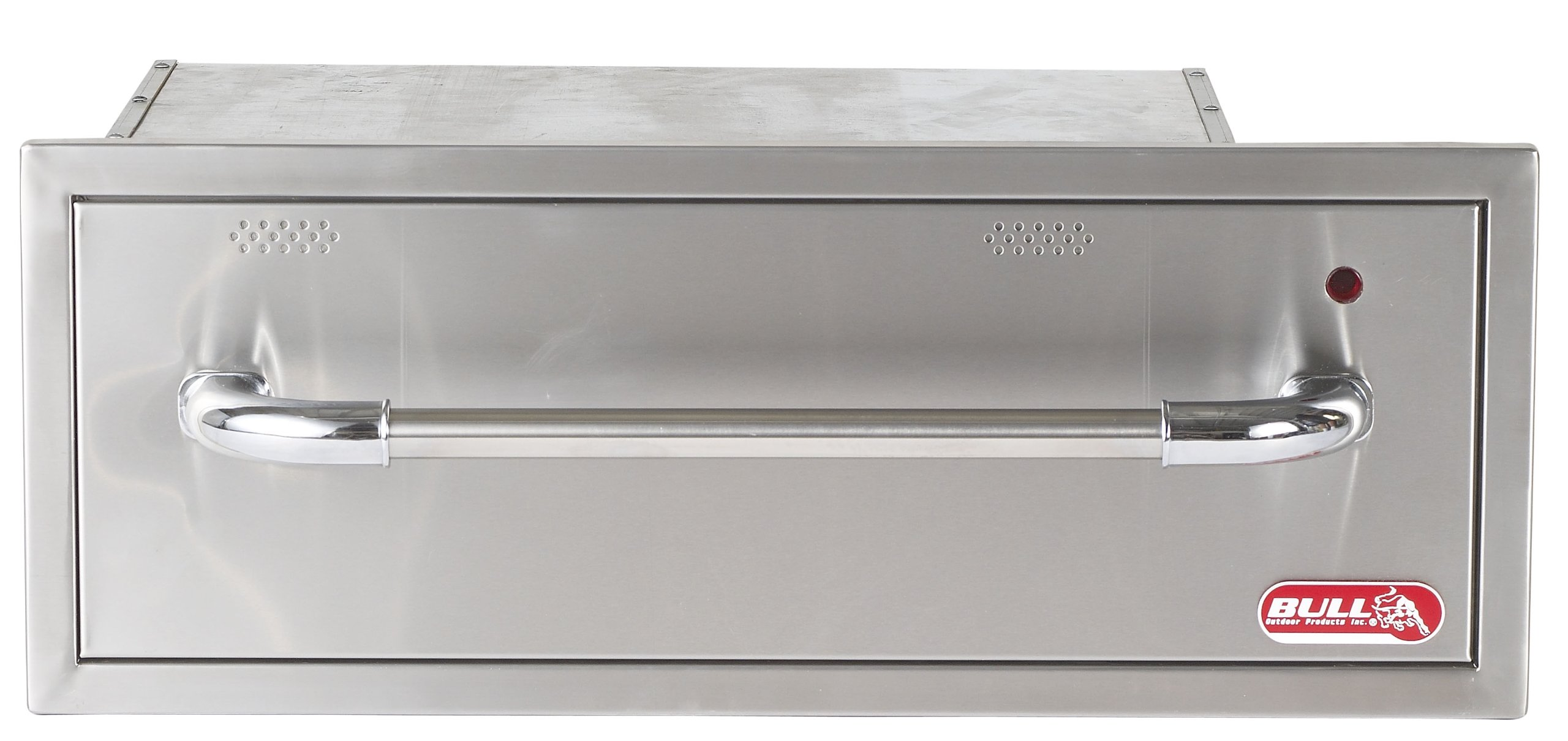 Bull Outdoor Products Stainless Steel Warming Drawer by Bull