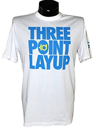 19690899 Image Unavailable. Image not available for. Color: Nike Men's KD Three  Point Layup T-Shirt ...