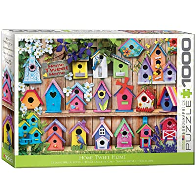 EuroGraphics Home Tweet Home 1000Piece Puzzle: Toys & Games