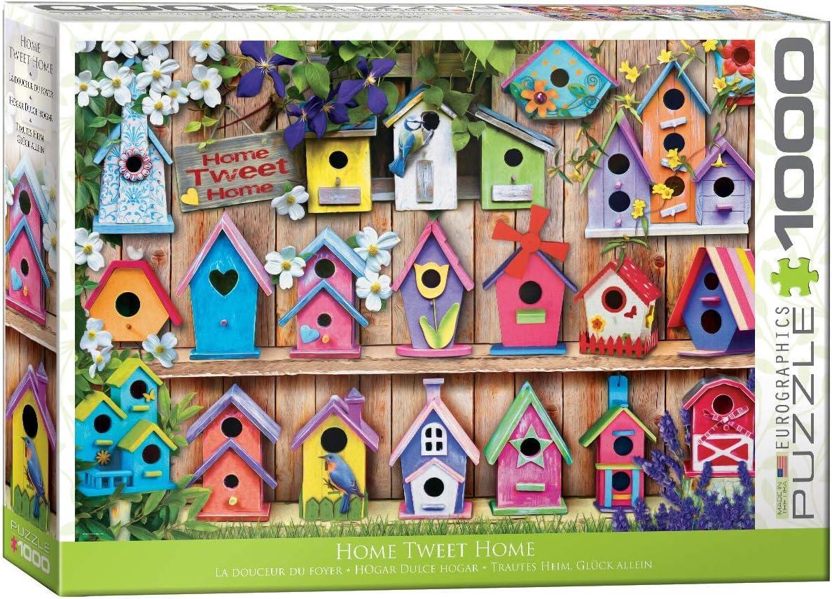 EuroGraphics Home Tweet Home 1000Piece Puzzle