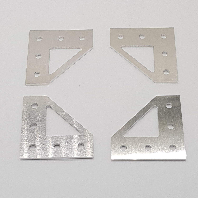 Anet A8 upgrade Aluteile fü r Am8 umbau 3d Drucker Bottom Corner Plate Dekostore2018