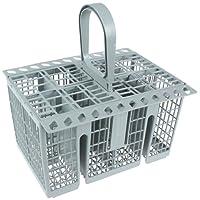 Hotpoint c00257140 Indesit Genuine Dishwasher Cutlery Basket, Grey