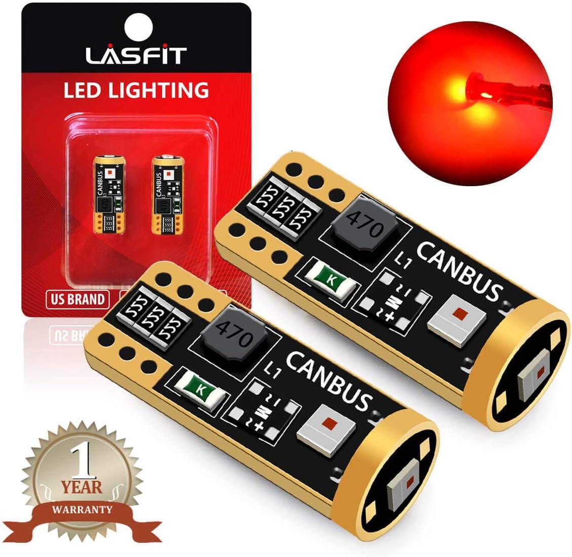 2 X White Error Free Wedge Light CANBUS T10 501 194 W5W SMD 24LED Car Light Bulb
