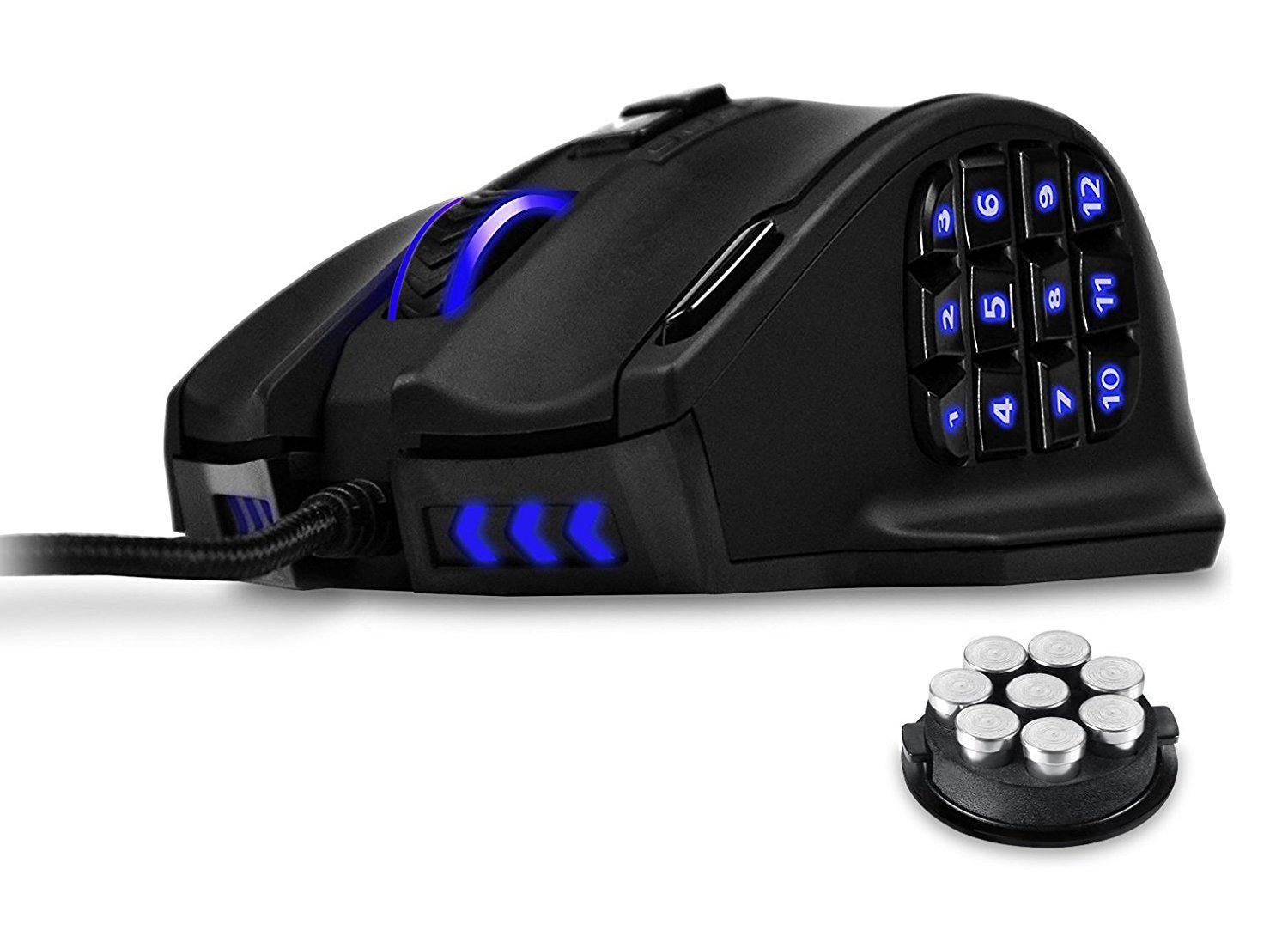 UtechSmart Venus 16400 DPI High Precision Laser MMO Gaming Mouse by UtechSmart (Image #1)