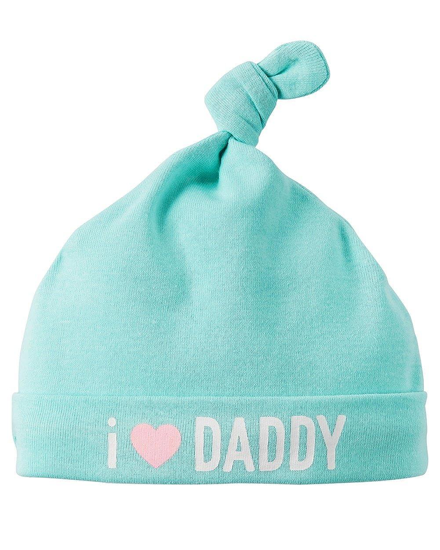 One Size Carters Baby Girls I Love Daddy Beanie