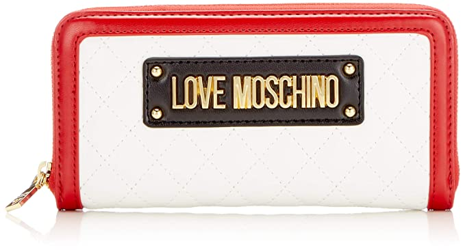 eead17eac8 Love Moschino Quilted Pu Mix Multi, Women's, White (Bianco), 15x10x15 cm