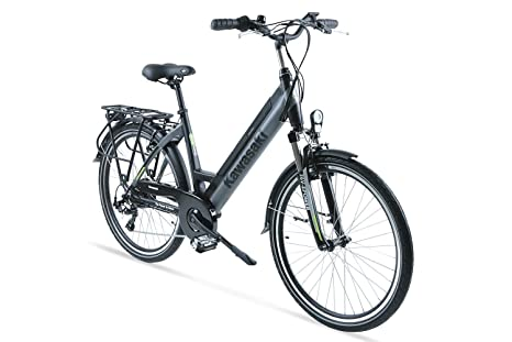 Bicicletta Elettrica Con Pedalata Assistita Ammortizzata 26