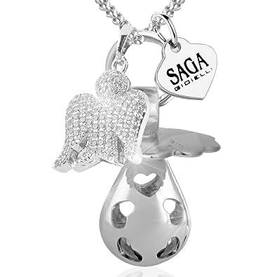 Saga joyas collar Chiama ángeles bola México Chupete charm ...