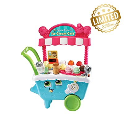 VTech Leapfrog Scoop & Learn Ice Cream Cart - Exclusive Edition Pack: Sports & Outdoors