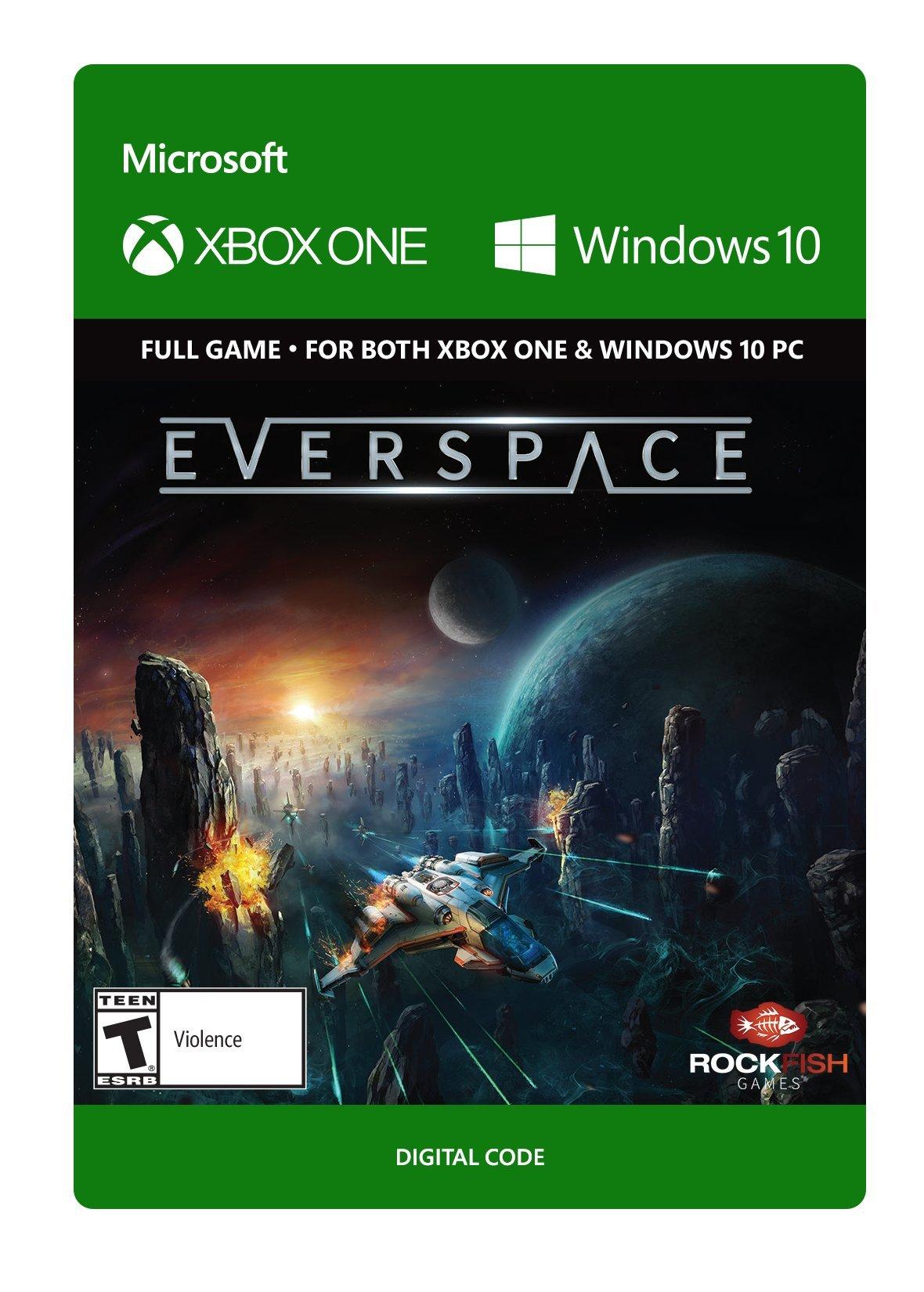 Amazon com: EVERSPACE - Xbox One [Digital Code]: Video Games
