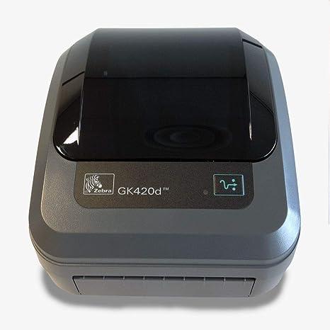 Zebra Impresora DE Tickets TERMICA GK420D Serie USB Paralelo ...