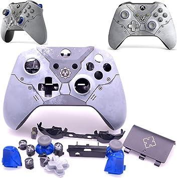 Deal4GO - Carcasa de Repuesto para Mando inalámbrico Xbox One 1708 Gears 5 Limited Edition con Botones LB RB/Thumbstick: Amazon.es: Electrónica