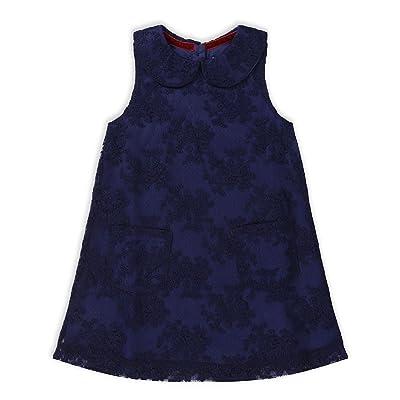 The Essential One - Bébé Enfant Fille Robe Occasion Spéciale - Bleumarine - EOT565