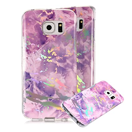 brand new 488e1 7a2e8 Amazon.com: Marble Phone Case for Samsung Galaxy S6,Cover for Galaxy ...