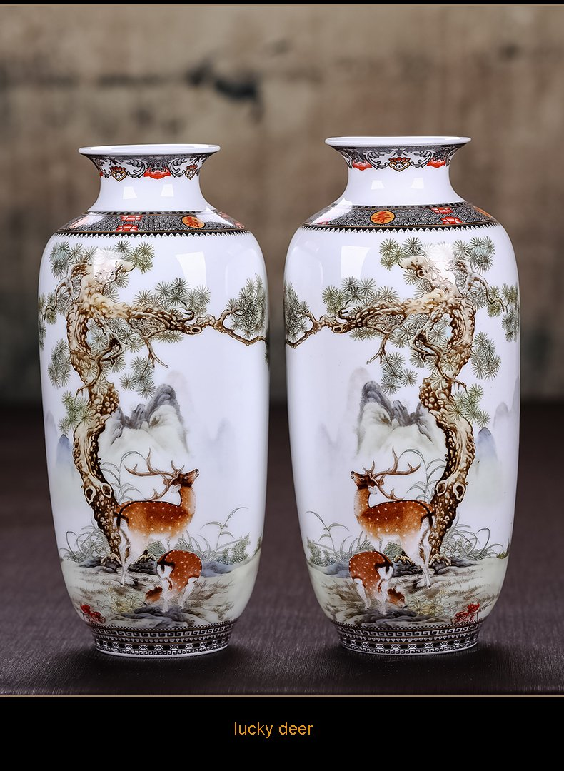 Ceramic Vase Vintage Style Animal Vase Fine Smooth Surface Home Decoration Furnishing Articles by In In (Image #1)